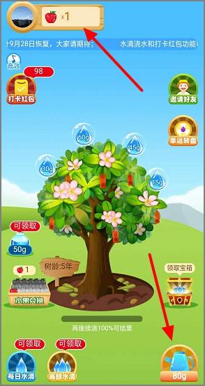 如意果园:简单浇水种树秒提0.3元  第2张