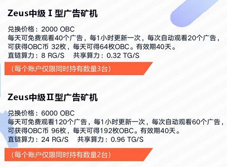 OBChat:注册实名送入门矿机,可产140枚币,场外1币0.5元!  第4张