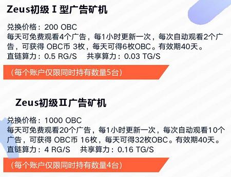 OBChat:注册实名送入门矿机,可产140枚币,场外1币0.5元!  第3张