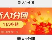 百芝堂:一分钱拼团领0.3元补贴