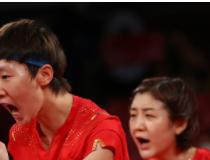 中国女乒3:0完胜日本获得女团冠军!